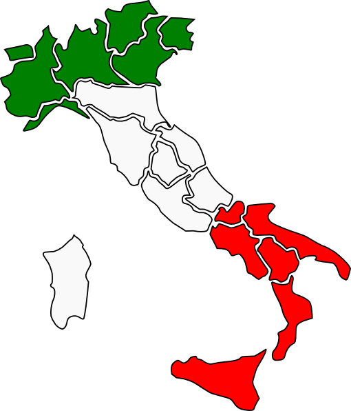 Map Of Italy Clip Art at Clker.com.