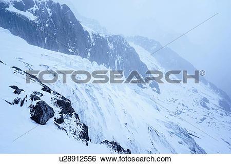 Stock Images of Jade Dragon Snow Mountain Lijiang City Yunnan.