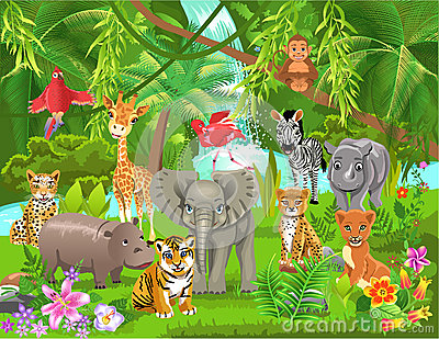 Clipart jungle » Clipart Station.