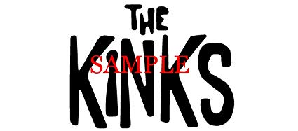 Amazon.com: WHITE THE KINKS BAND DECAL LOGO WINDOW NEW.