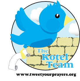 Tweet Your Prayers @TheKotel » Blog Archive » The Kotel Team.