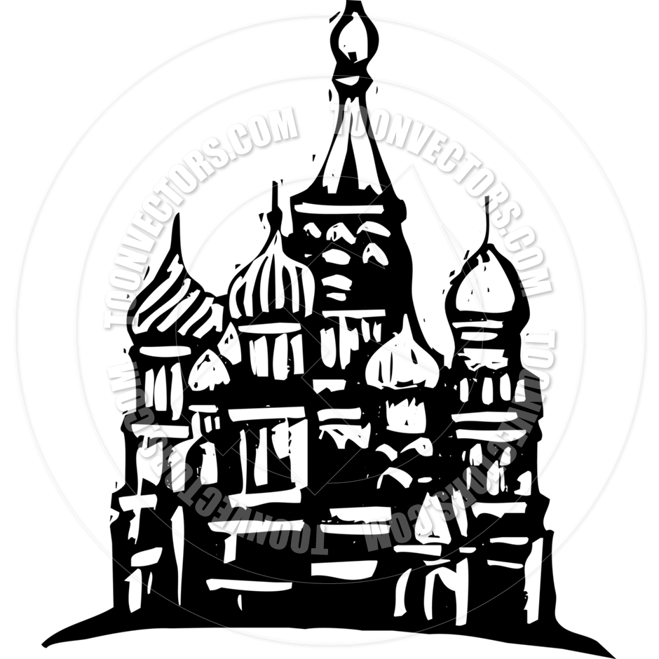 Kremlin Russia by xochicalco.