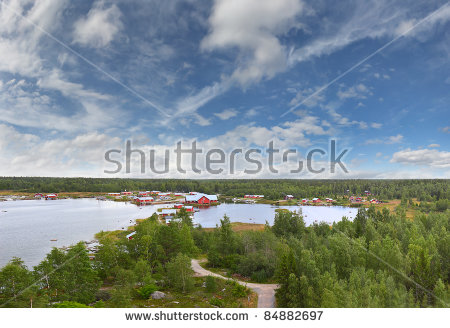 Kvarken Archipelago, Situated In The Gulf Of Bothnia, A Northern.