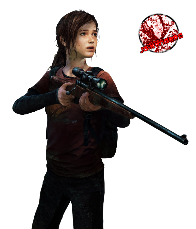 Ellie the last of us clipart.