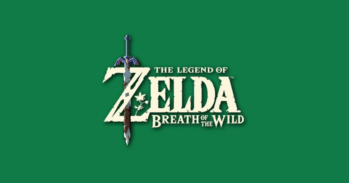 The Legend of Zelda Breath of the Wild Logo.