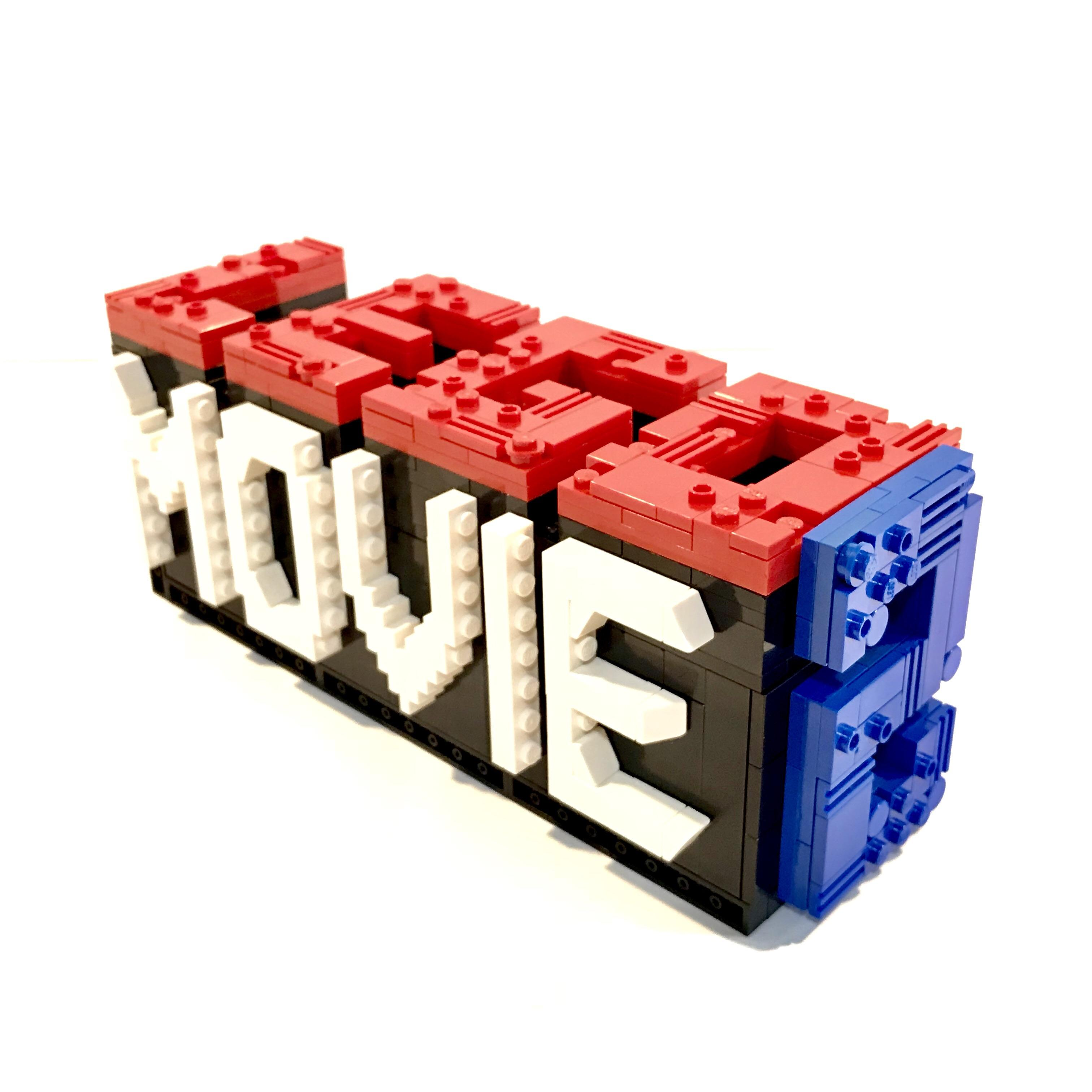 Updated my The Lego Movie logo in anticipation of the sequel.