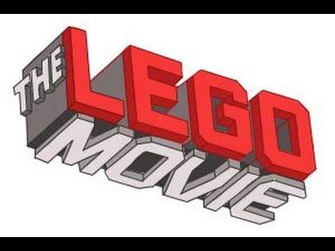 How to draw The Lego Movie Logo.