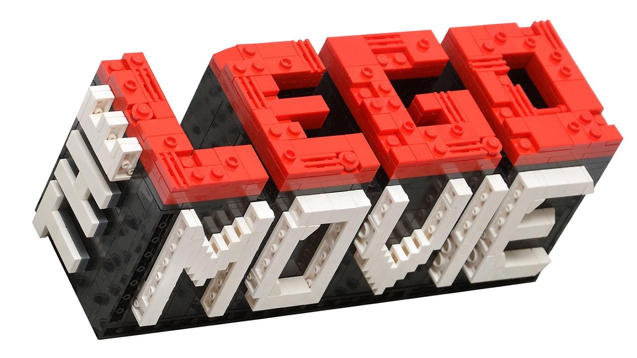how to build THE LEGO MOVIE mini logo!.