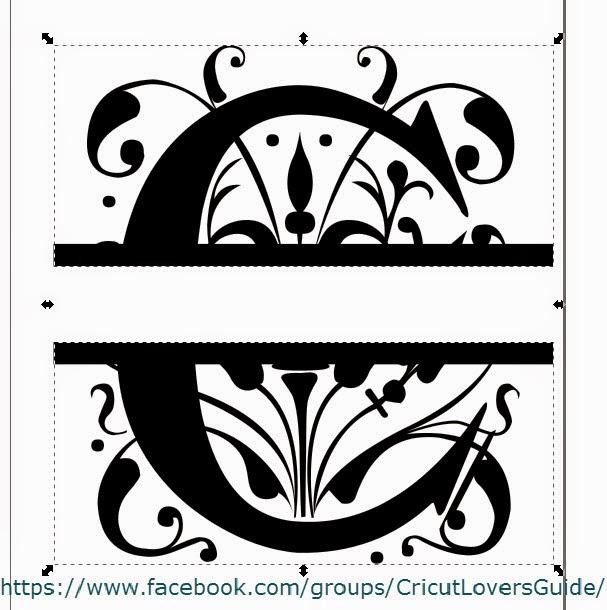 the letter c monogram clipart