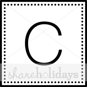 Black Letter C.