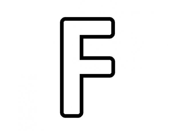 Free Letter F Clipart Black And White, Download Free Clip.