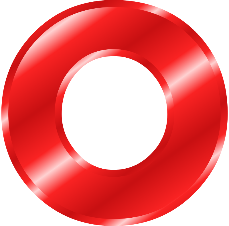 The Letter O Clipart - Clipground
