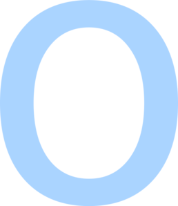 Letter O Clip Art at Clker.com.