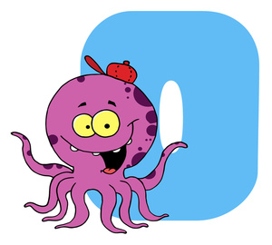 Octopus Clipart Image.