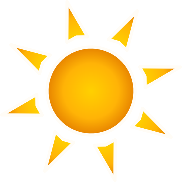 Animation Sun Light Clipart.