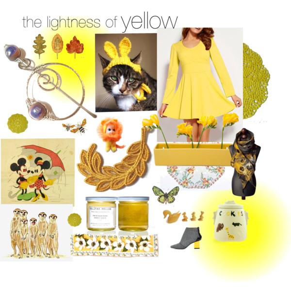 the lightness of yellow.