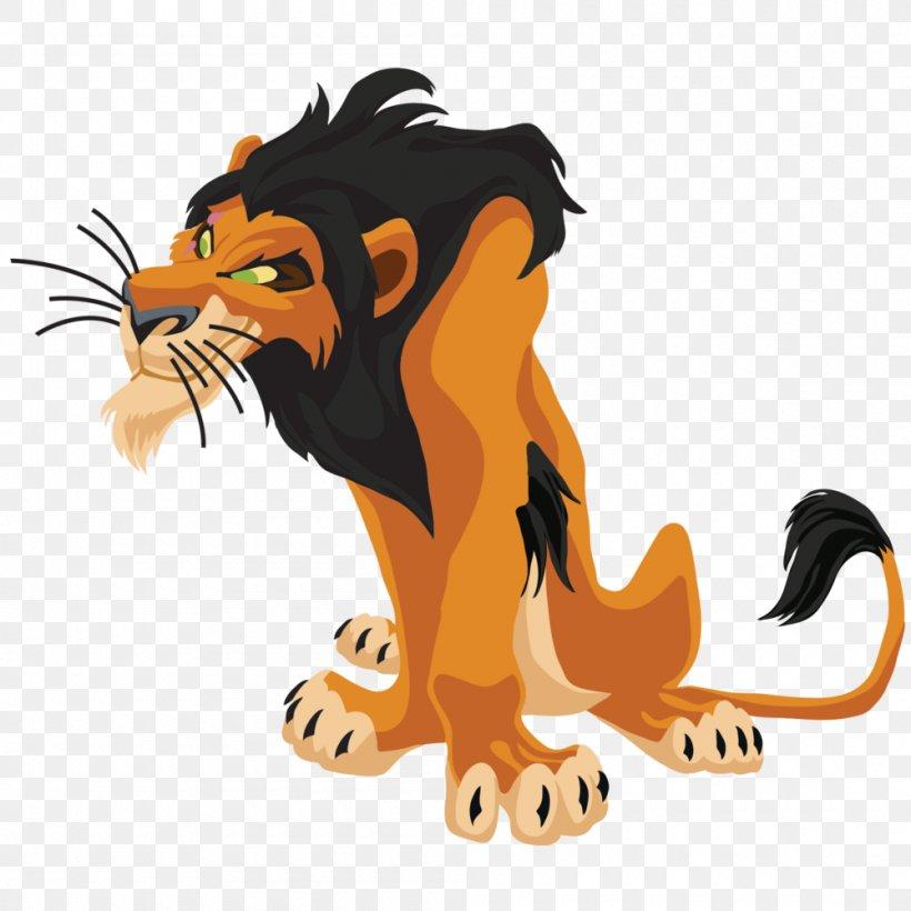 The Lion King Scar Simba Clip Art, PNG, 1000x1000px, Lion.