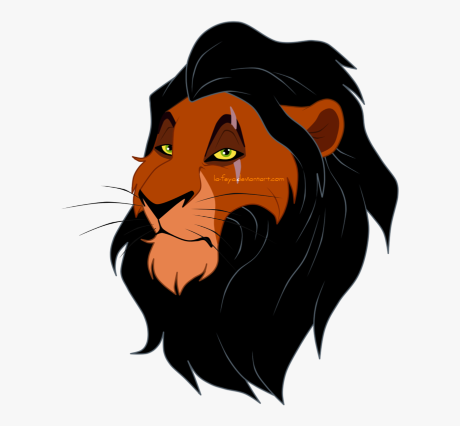 Scar The Lion King Png.