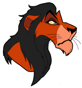 Lion King Scar Clipart.