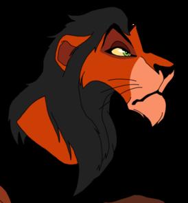 Lion King Scar Clipart.
