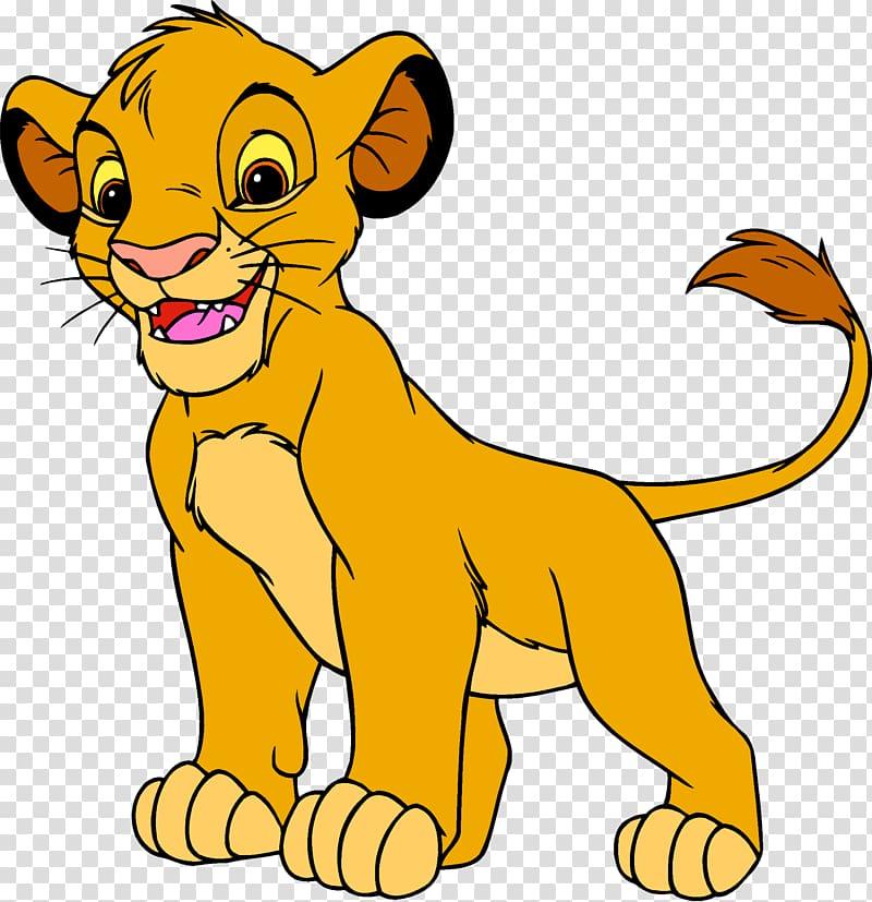 Simba from Lion King illustration, Simba Nala The Lion King.