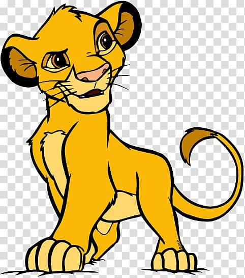 Simba Nala The Lion King , the lion king transparent.