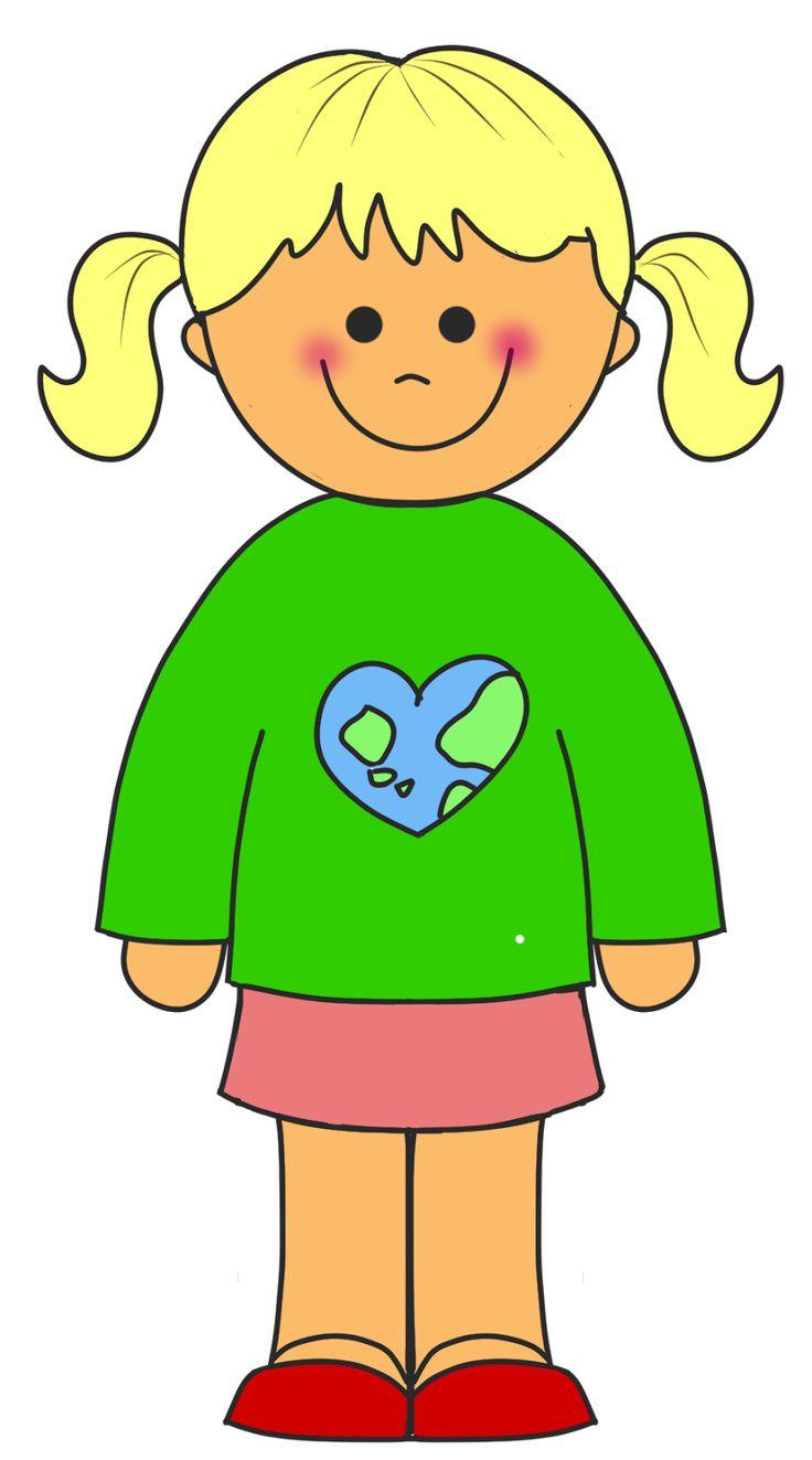 Little Girl Clipart Images.