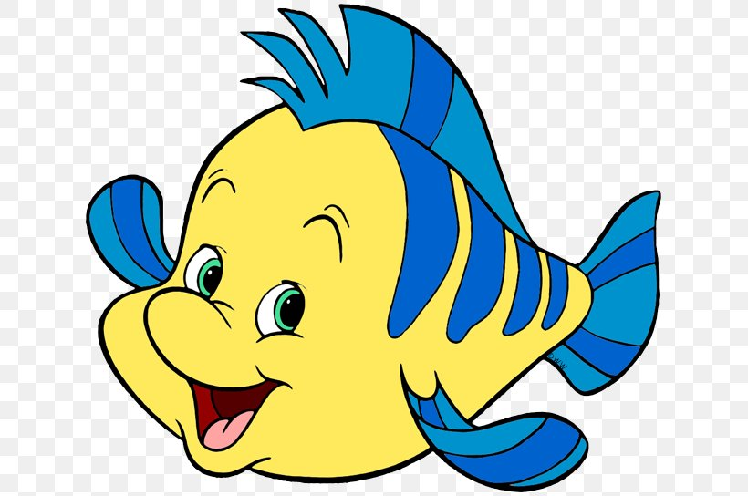 Clip Art Flounder The Little Mermaid Image, PNG, 639x544px.