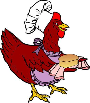 Little Red Hen Free Clipart.