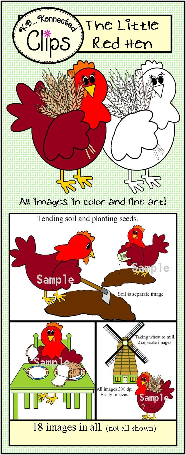 17 Best images about The little red hen on Pinterest.