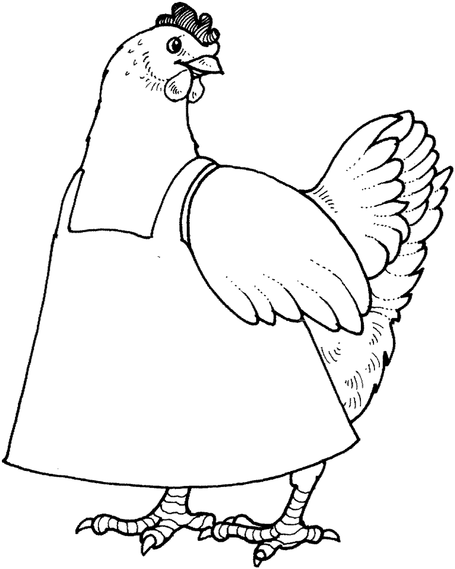 Free Little Red Hen Sequencing Printable featuring clip art from.