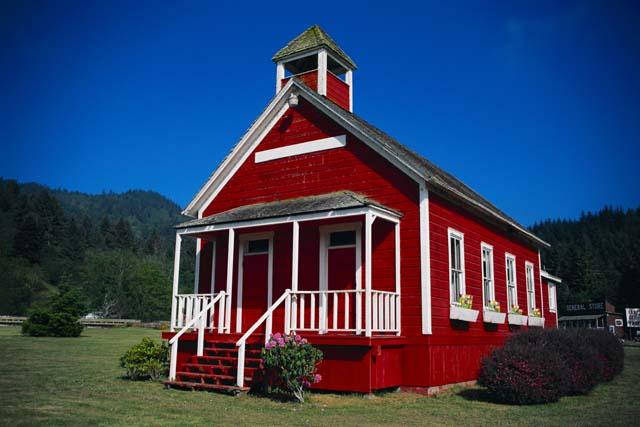 Little Red School House.