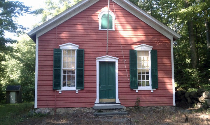The Little Red Schoolhouse.