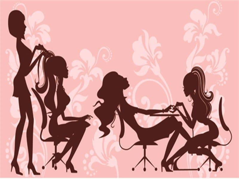 Unisex Beauty Salon.