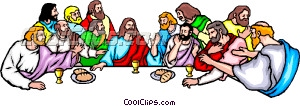 Lord supper clipart.