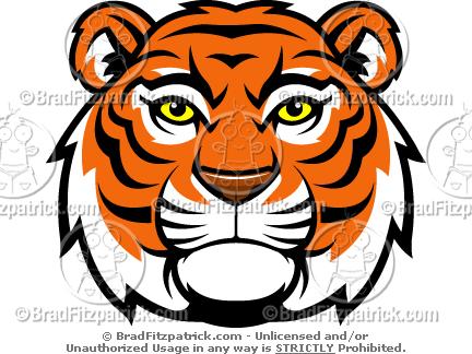 Lsu Tiger Mascot Clipart.