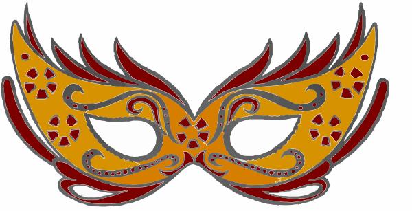 Masquerade Mask Clipart.