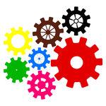 mechanisms Vector Clip Art.