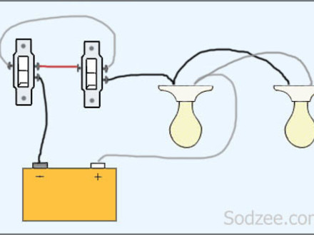 3 Way Switch 2 Lights.