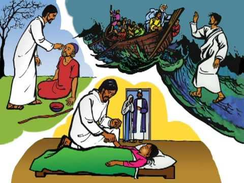 UYGHUR (ئۇيغۇرچە) Miracles of Jesus from Good News Movie.