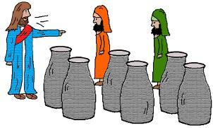 Jesus Turns Water Into Wine Sunday School Lesson.