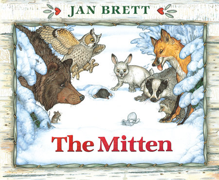 The Mitten by Jan Brett: 9780399252969.