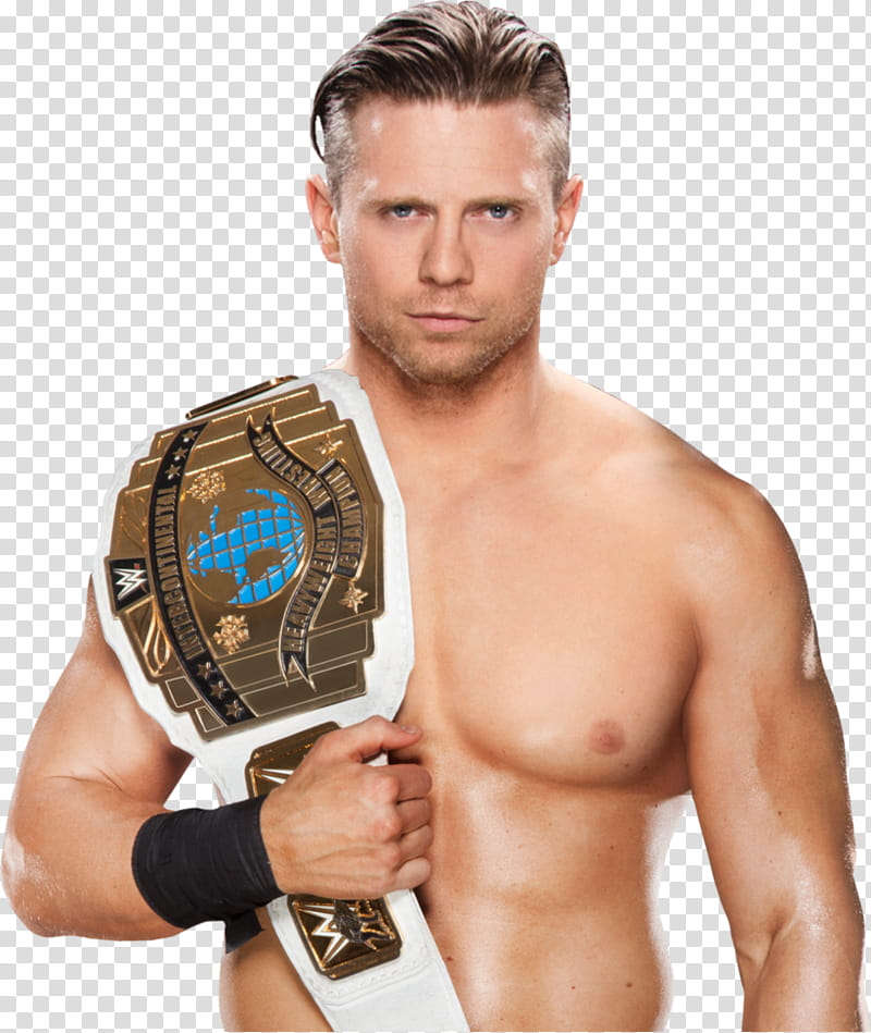 The Miz IC Champion NEW transparent background PNG clipart.