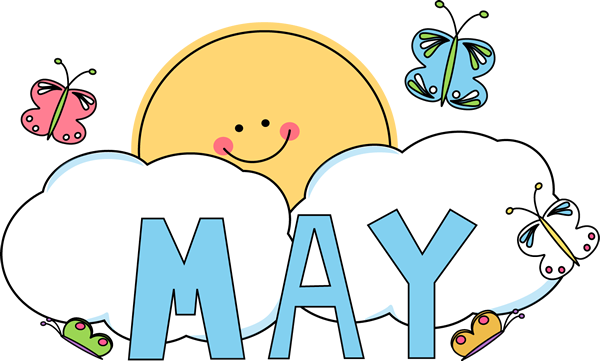 So many good things happen in the month of May..