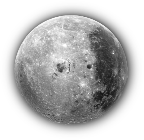 The moon clip art download.