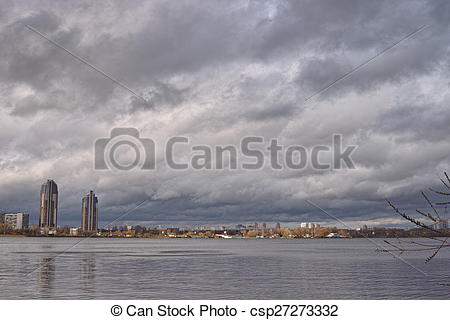 Stock Photos of Body of water in the Moscow river.