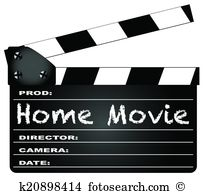 Home movie Clipart Illustrations. 3,064 home movie clip art vector.