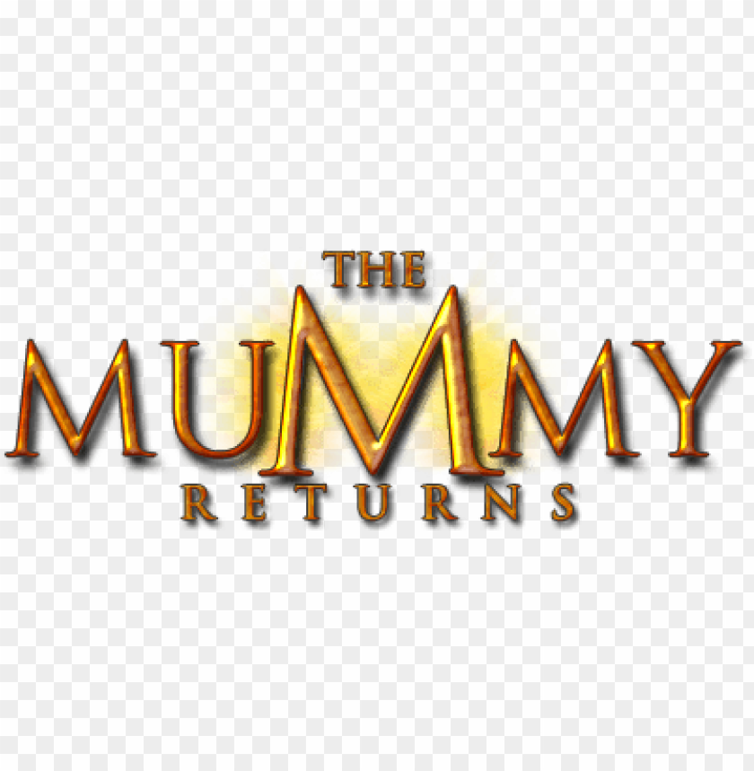 Download the mummy returns logo png images background.