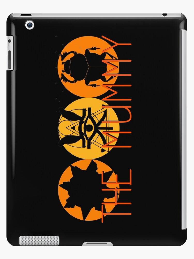 \'The Mummy (logo)\' iPad Case/Skin by syriana94.