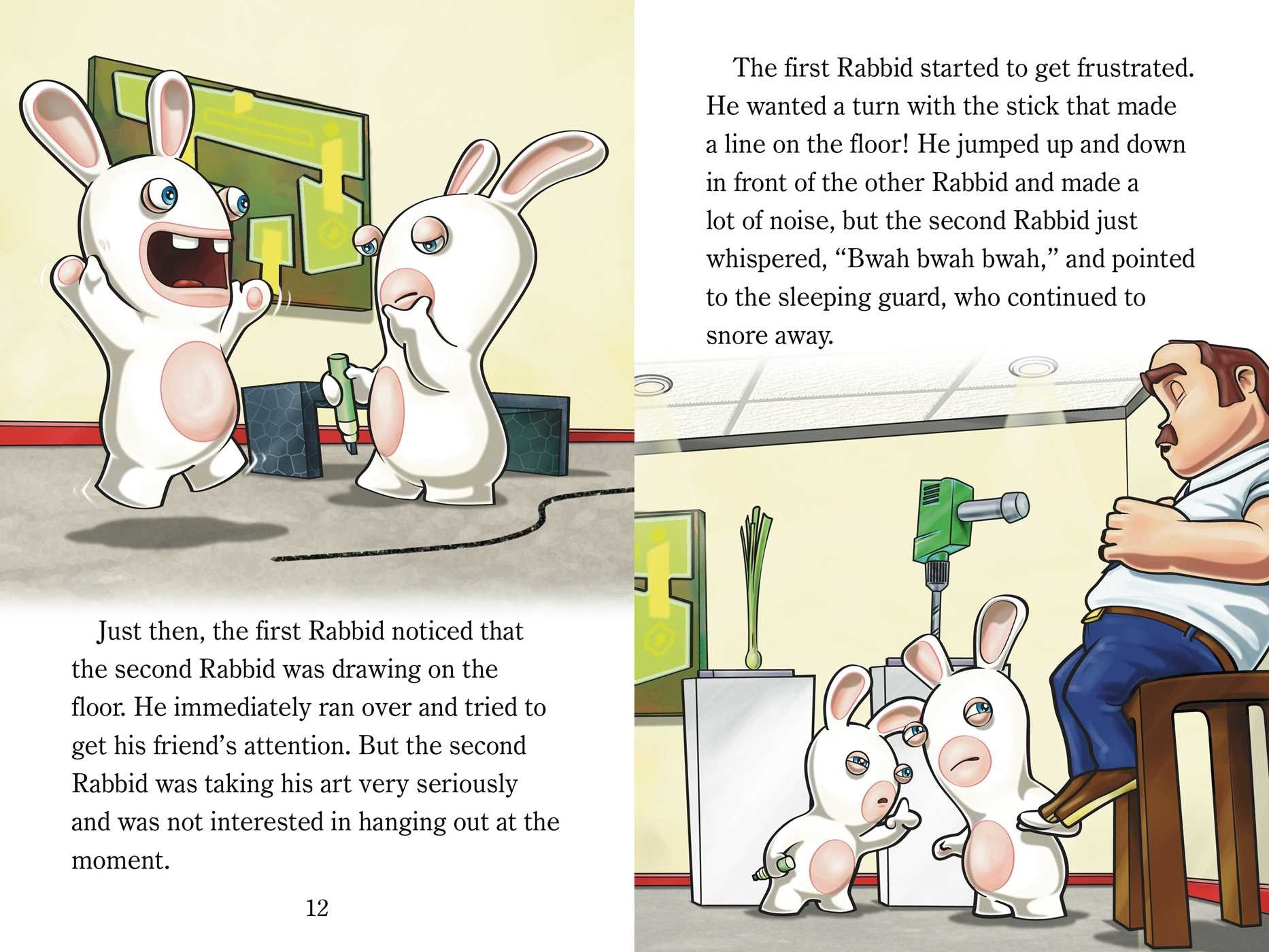 Rabbids at the Museum.